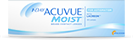 1-day Acuvue Moist for Astigmatism bygningfejl-linser