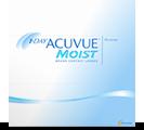 1-Day Acuvue Moist 90pk daglinser | Gratis fragt af kontaktlinser