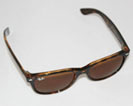 Ray-Ban Wayfarer solbriller med brune glas og stel i brun