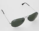 RayBan Aviator grå/sløv RB3025 solbriller