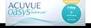 Acuvue Oasys 1-Day for Astigmatism bygningfejl 1dags kontaktlinser