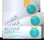 Acuvue Oasys 1-Day for Astigmatism bygningfejl linser