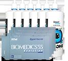 Biomedics 55 pakke-tilbud - billige kontaktlinser!