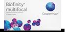 Biofinity multifocal flerstyrke kontaktlinser