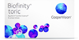 Biofinity toric bygningsfejl kontaktlinser