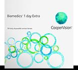 Biomedics 1 day Extra kontaktlinser