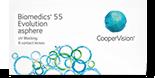 Biomedics 55 Evolution månedslinser m/UV