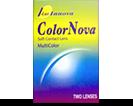 Colornova farvede linser uden styrke