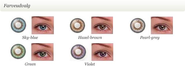 42bc9ae555cd ColorNova farvede kontaktlinser uden styrke