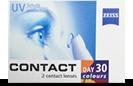 Contact Day 30 tre farvede kontaktlinser