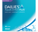 Dailies AquaComfort Plus Toric flerstyrke kontaktlinser til dags brug