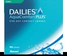 Dailies AquaComfort Plus Toric er 1-dagslinse til korrektion af bygningsfejl