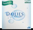 Focus Dailies Toric toriske 1-dagslinser