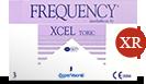 Frequency Xcel Toric XR bygningsfejl linser