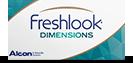 FreshLook Dimensions farvede kontaktlinser uden styrke