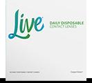 Live silikone endagsliner fra Coopervision