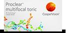 Proclear Multifocal Toric bygningsfejl multifokale linser