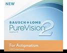 PureVision 2 hd for Astigmatism toriske linser