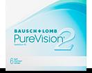 PureVision 2 HD silikone-hydrogel månedslinser til døgnbrug