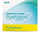 PureVision 2 Multi-Focal for Presbyopia kontaktlinser