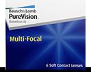 PureVision multi-focal multifokale kontaktlinser