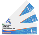 SofLens daily disposable Toric, toriske 1-dagslinser fra Bausch&Lomb